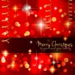 Classic Christmas Greetings background — Stock Vector