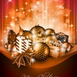 Elegant greetings background for flyers — Image vectorielle