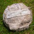 Old Soccer Ball Colour — Stock Photo