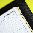 Foto de Stock  : Meetings Planner