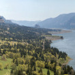 Stock Photo: ColumbiRiver Gorge Panorama