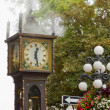 Vancouver BC Historic Gastown Steam Clock — Stock Photo