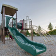 Neighborhood Public Park Children's Playground Gym Structure — Stock Photo