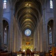 Historic Grace Cathedral Interior in San Francisco — Stok fotoğraf