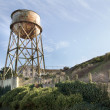 Water Tower at Alcatraz Island — Stock Photo
