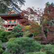 Pagoda at Japanese Garden — Stock Photo