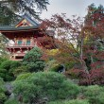 Pagoda at Japanese Garden — Stock Photo