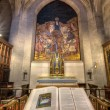 ストック写真: Bible and Crucifix at Grace Cathedral