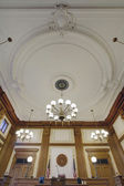 Baroque Ceiling in Pioneer Courthouse — Stock Photo