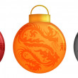 Stock Photo: Chinese Dragon Christmas Ornaments