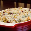 Stock Photo: Thanksgiving Day Turkey Dinner Stuffing