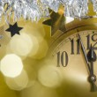 Royalty-Free Stock Photo: New year clock