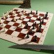 Chess board — Stockfoto