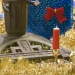 Christmas stand, — Stock Photo #7094223