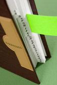 Addres book — Stock Photo