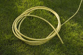 Yellow hose — Stock Photo