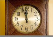Zegar stawić czoło — Zdjęcie stockowe