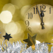 New year clock - Foto Stock