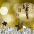 New year clock - Lizenzfreies Foto