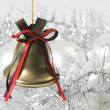 Christmas bell — Stock Photo