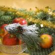 Christmas still life — Stock Photo