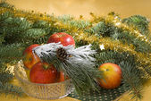 Christmas still life — Stock fotografie