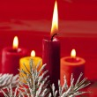 christmas candle&quot — Stock Photo
