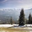 View of Tatra Mountains and Zakopane — Stock Photo #7245795
