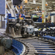 Stock Photo: Production Line of MacPherson suspension
