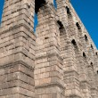 Roman aqueduct of Segovia — Stock Photo