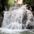 "Waterfall at the ""Monasterio de Piedra"" — Stok fotoğraf"