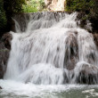 Waterfall at the Monasterio de Piedra — Stock Photo