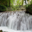 Waterfall at the Monasterio de Piedra — Stok fotoğraf