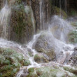 "Waterfall at the ""Monasterio de Piedra"" — Zdjęcie stockowe"