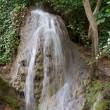 "Waterfall at the ""Monasterio de Piedra"" — Fotografia Stock  #6803284"