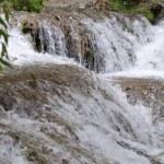 """Waterfall at the """"Monasterio de Piedra"""" — Stock Photo"""