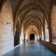 Inner cloister at the Monasterio de Piedra — Stock Photo