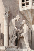 Details of Sagrada Familia cathedrals in Barcelona — Stock Photo