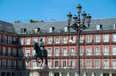 Plaza Mayor in Madrid — Stock Photo