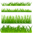 Grass set — Stockvectorbeeld