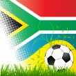 Stock Vector: World cup South africa