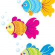 Fish illustration — Stock Vector