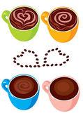 Tasse à café — Vecteur