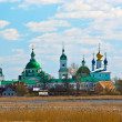 View of Russian historic town Rostov on spring — Stock Photo #6849987