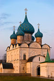 Classic Russian church in historical town — Stock Photo