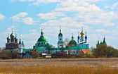 View of Russian historic town Rostov on spring — Stock Photo