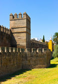 Ancient muslim city wall in Sevilla — Stock Photo