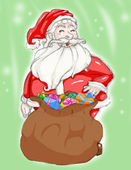 Jultomten — Stockfoto