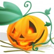 Evil pumpkin — Stock Photo