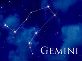 Constellation Gemini — Stock Photo